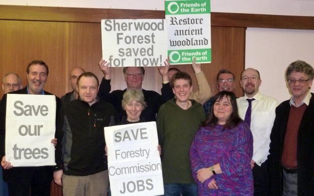 Save Sherwood Forest organising group 2011