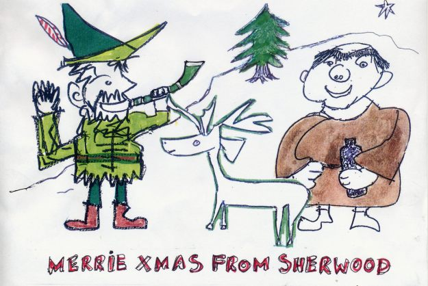 Merrie Xmas from Sherwood
